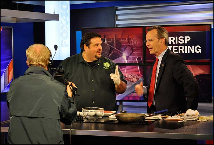 Joe Thompson on Fox 40