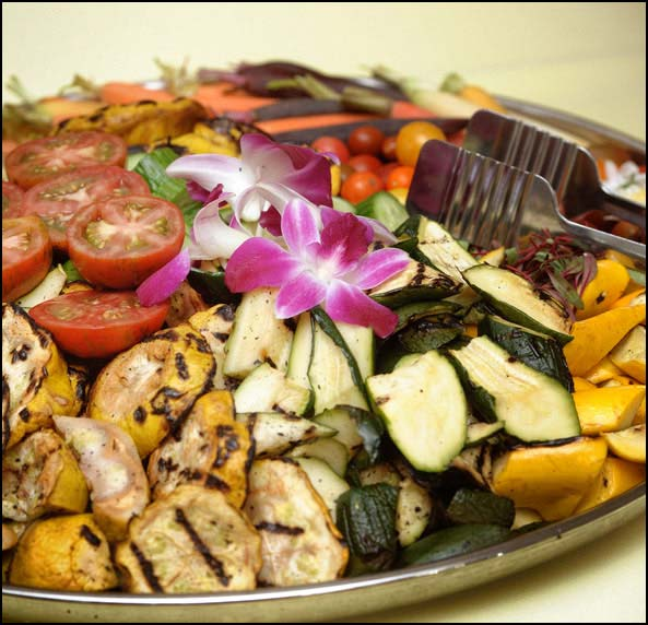 Grilled Vegetable Platter - Crisp Catering Sacramento